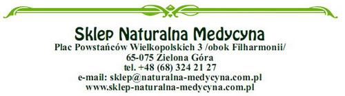 Internetowy Sklep Naturalna Medycyna Zielona Góra